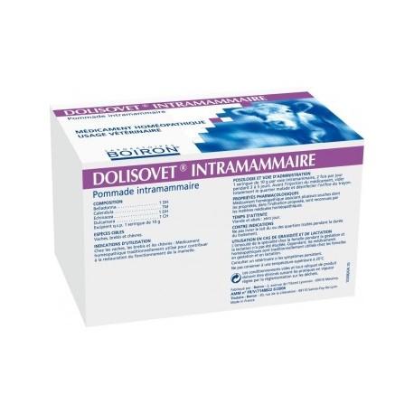 Dolisovet injecteur intramammaire boite de 20 X 10 gr