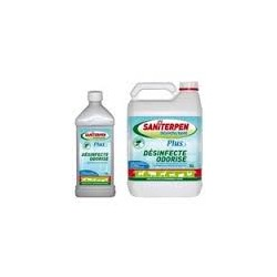 SANITERPEN DK  INSECT.    en flacon de 1 et 5 litres et 3 doses de 60 ml