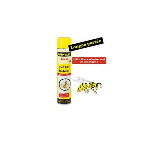 SANITERPEN insecticide guêpes et frelons bombe 600 ml