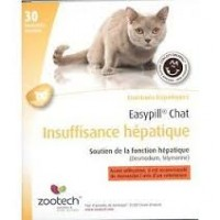 EASYPILL CHAT INSUF.HEPATIQUE b/30*2 g barres