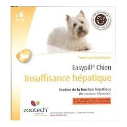 EASYPILL CHIEN INSUF.HEPATIQUE b/6*28 g  barres
