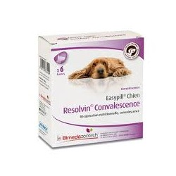 EASYPILL CHIEN RESOLVIN CONVAL b/6*28 g  barres