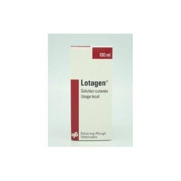 LOTAGEN solution antiseptique en flacon de 100 ml ou 1 litre