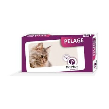 PET PHOS PELAGE FELIN b/36 cpr
