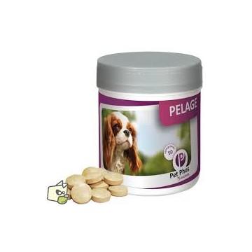 PET PHOS PELAGE CANIN 50 comprimés ou 450 comprimés