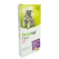 Drontal P Bone chien 6 comprimés