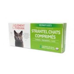STRANTEL chats boite de 2 ou 4 comprimés