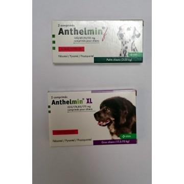 ANTHELMIN f ou XL boite de 2 comprimés