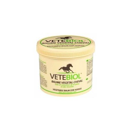 VETEBIOL BAUME VEGETAL CHEVAL  b/400 g  ou pot de 4 kg