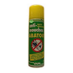 ABATOUT ANTI MOUCHES           bbe/335ml sol ext