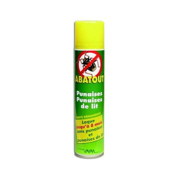 ABATOUT ANTI PUNAISES bbe/405ml sol ext