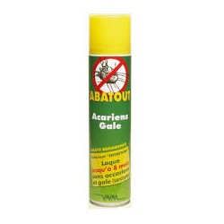ABATOUT ANTI ACARIENS  bbe/405ml sol ext