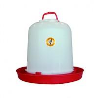 ABREUVOIR PLASTIQUE POULE ANSE en 5 ou 10 litres