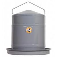 ABREUVOIR POULE GALVANISE en 5 ou 20 litres
