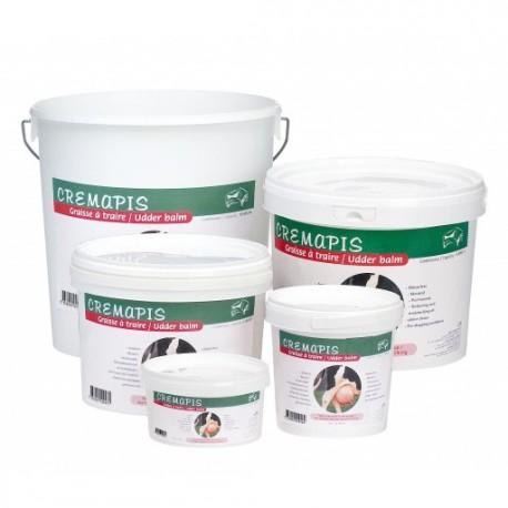 GRAISSE A TRAIRE CREMAPIS  en pot de 500 ml , 1 l , 3 l , 5 l