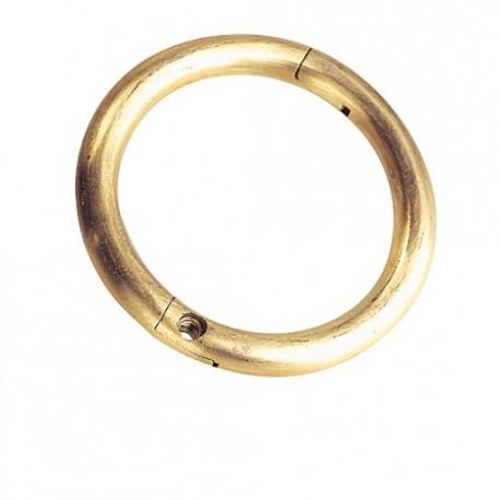 ANNEAU TAUREAU LAITON diamètre 60 , 70 , 80 , 100 mm  (104421)