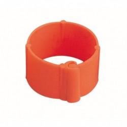 BAGUES POULE ROUGE CLIP 16 MM  sach/20   (540016)