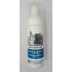 FRONTLINE PETCARE MOUSSE NETTOYANTE SANS RINCAGE  200 ml