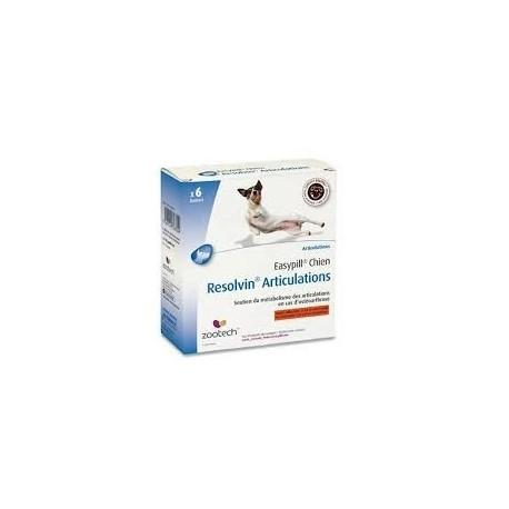 EASYPILL CHIEN RESOLVIN ARTICU b/6*28 g  barres