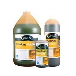 POVIDONE SOLUTION 10%  flacon de 200 ml , 946 ml, 3.78 l