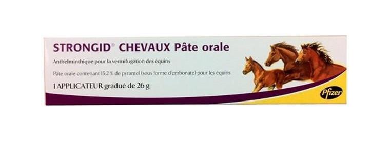 Antiparasitaires internes pour vos chevaux